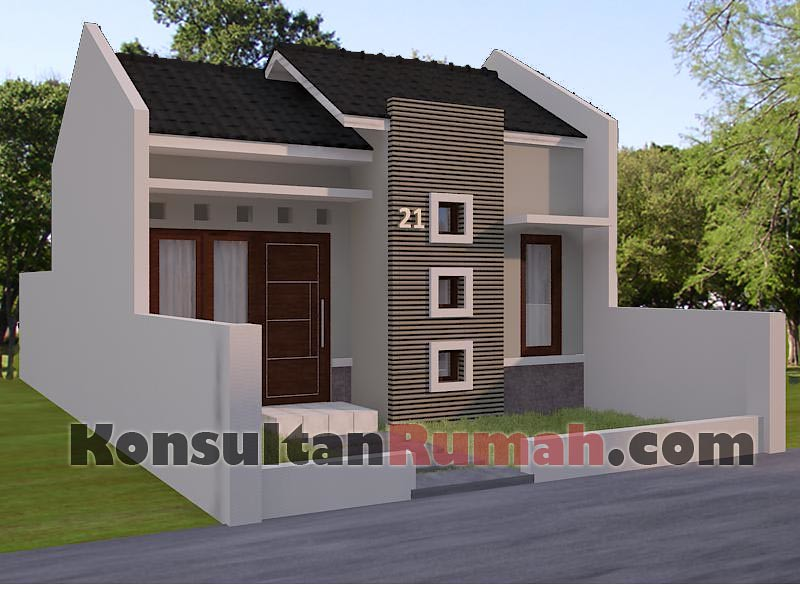 Gambar Desain Model Denah Interior Arsitektur Rumah Minima