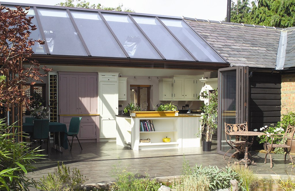 Lean To Kitchen Extension Again This Parisian Lean To