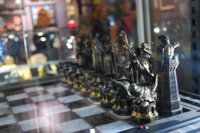 Harry Potter Chess Set From The Gift Shop Flickr Photo