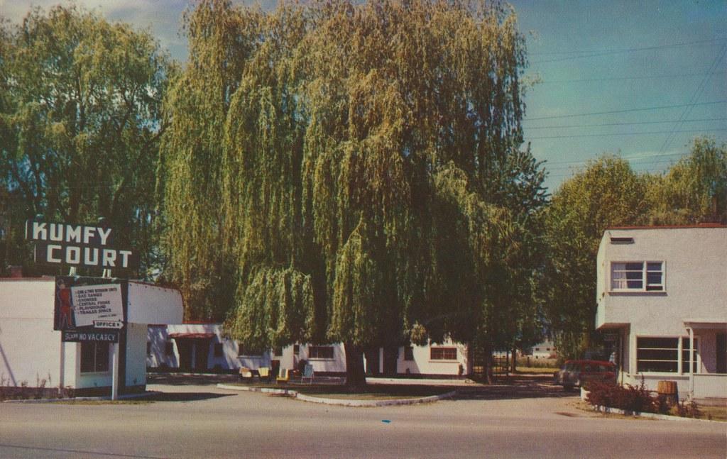 Kumfy Auto Kourt & Trailer Park - Kelowna, British Columbia