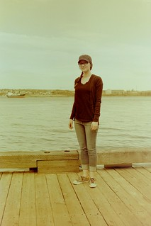 Kristie on the Pier | by Mahgeetah