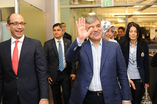 Visitor: Abdullah Gül (Archive) | by @Twitter