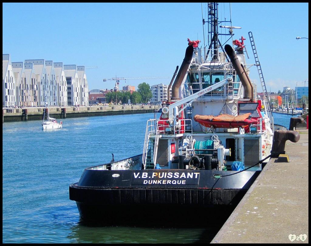 Remorqueur Le Puissant Dunkerque Fleur 2sable Flickr