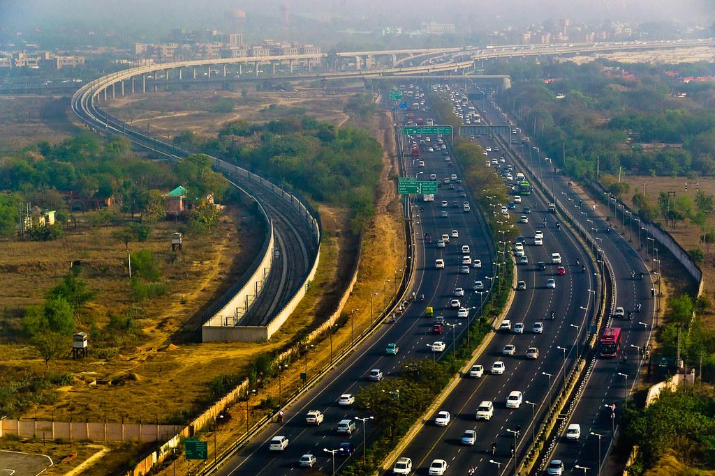 Delhi Skyline Nadir Hashmi Flickr