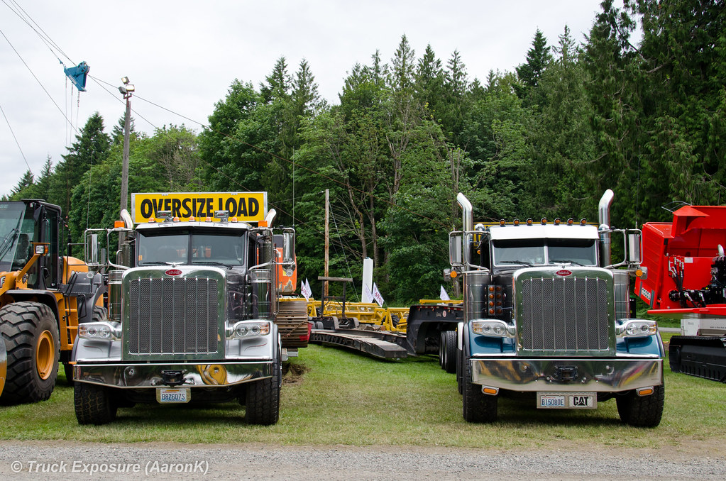 Lowboy service and pacific logging peterbilt 388 deming lo flickr sciox Image collections