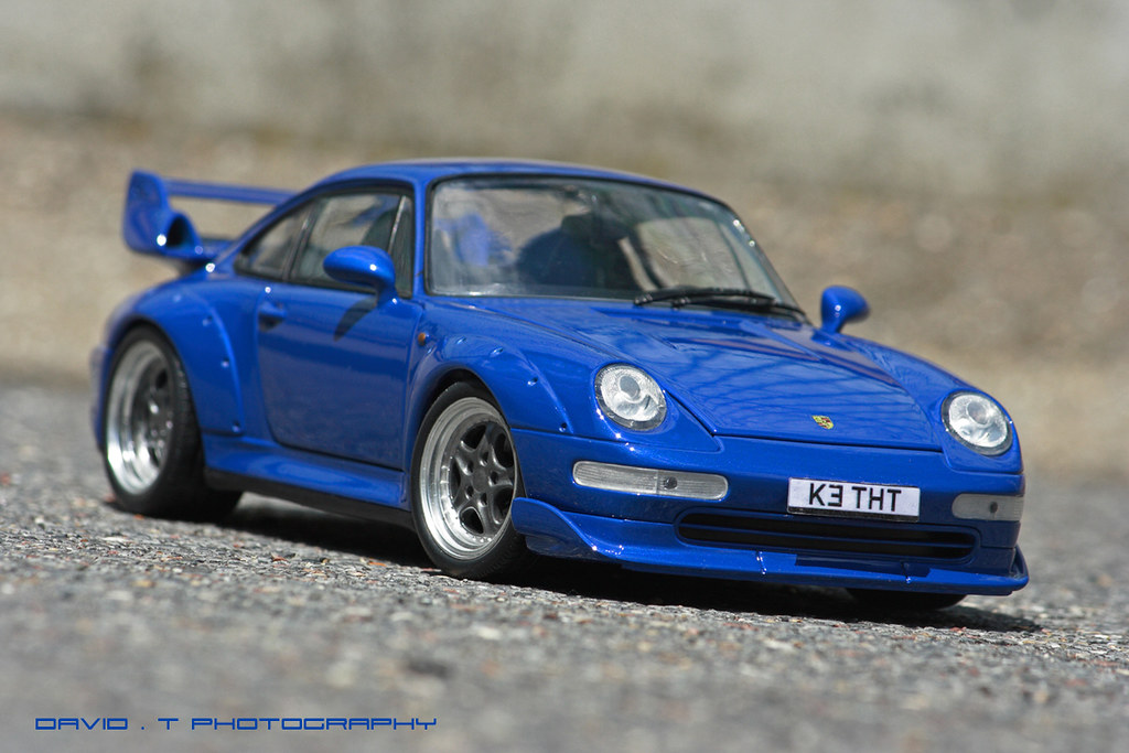 rs blue porsche 911 993 gt ut models 1 18 custom flickr. Black Bedroom Furniture Sets. Home Design Ideas