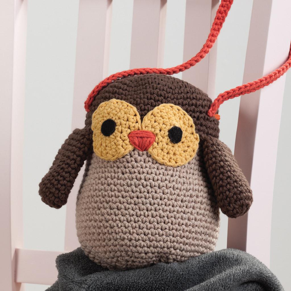 Little Owl Purse From Amigurumi on the Go by Ana Paula ...