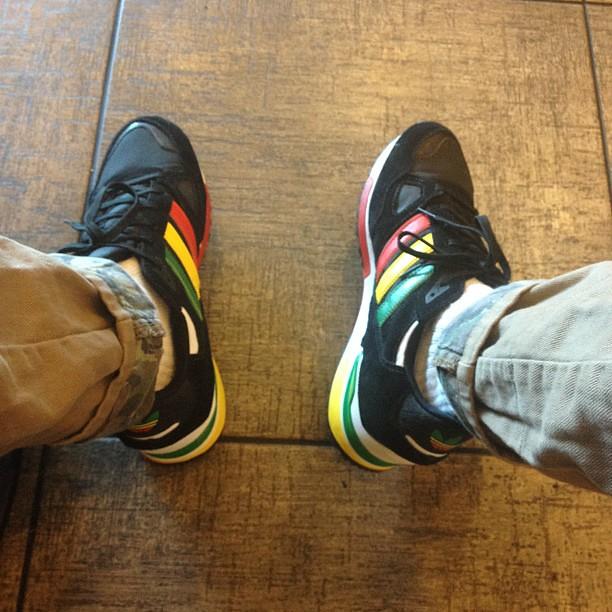 baa9ac6c56806 ... buy kicksoftheday rasta adidas zx750 by mario foresta d93e1 9f2f4