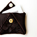 Scalloped Leather Clutch 3