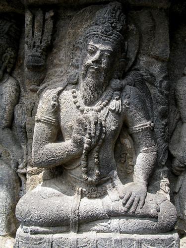 Prambanan carving david harris flickr