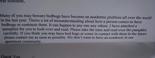 """We don't want to have an academic in our apartment community."" 