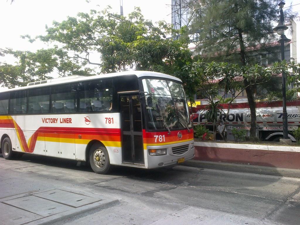 Victory Liner 781 Bus No 781 Route Roxas Sampaloc Via