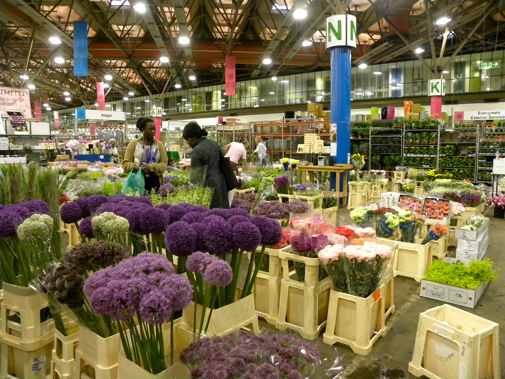 New Covent Garden Market Flower Market Eg Focus Flickr