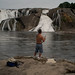 Fishing at Cohoes Falls-2666