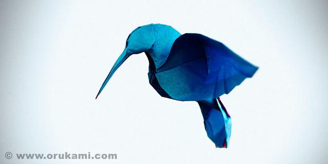 Origami Hummingbird | Flickr - Photo Sharing! - photo#28