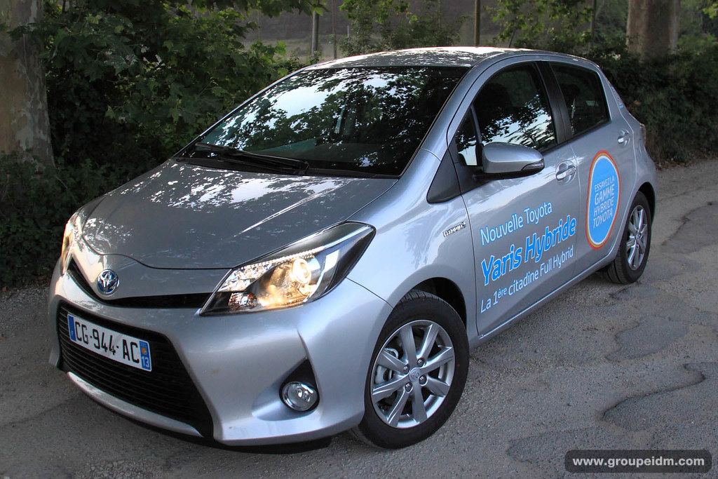 toyota yaris hybride 6 groupe automobile idm flickr. Black Bedroom Furniture Sets. Home Design Ideas