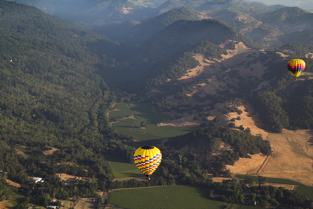 Image result for hot air balloon napa valley