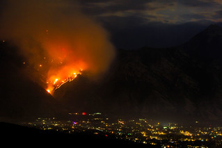 Quail Fire - East Mountain in Alpine - 2nd Night | by SingleDadLaughing