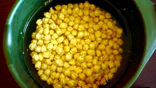 how to cook soaked chickpeas