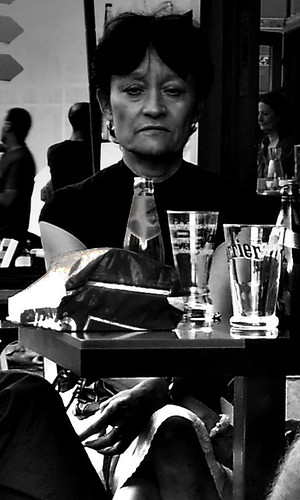 Thinking Perrier Lady. Chambery. Rhone Alpes. France. | by The world as eye see it. over 2 million views.