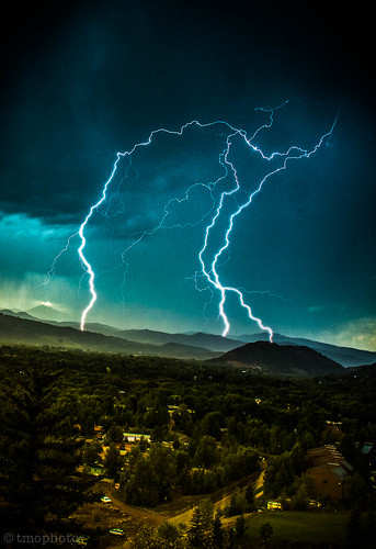 lightning in aspen | by tmo-photo