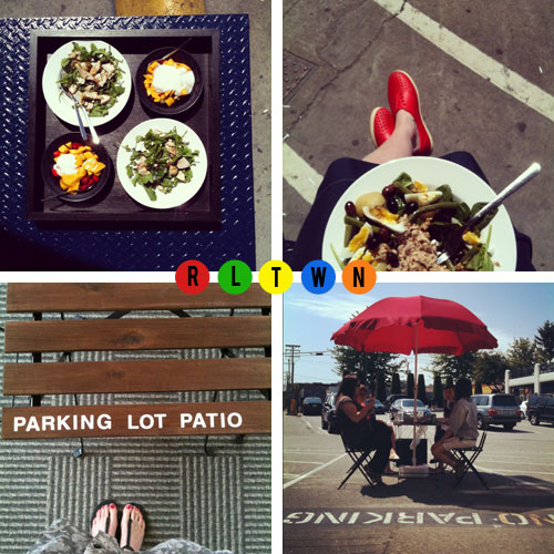 Parking Lot Patio | by olivelife