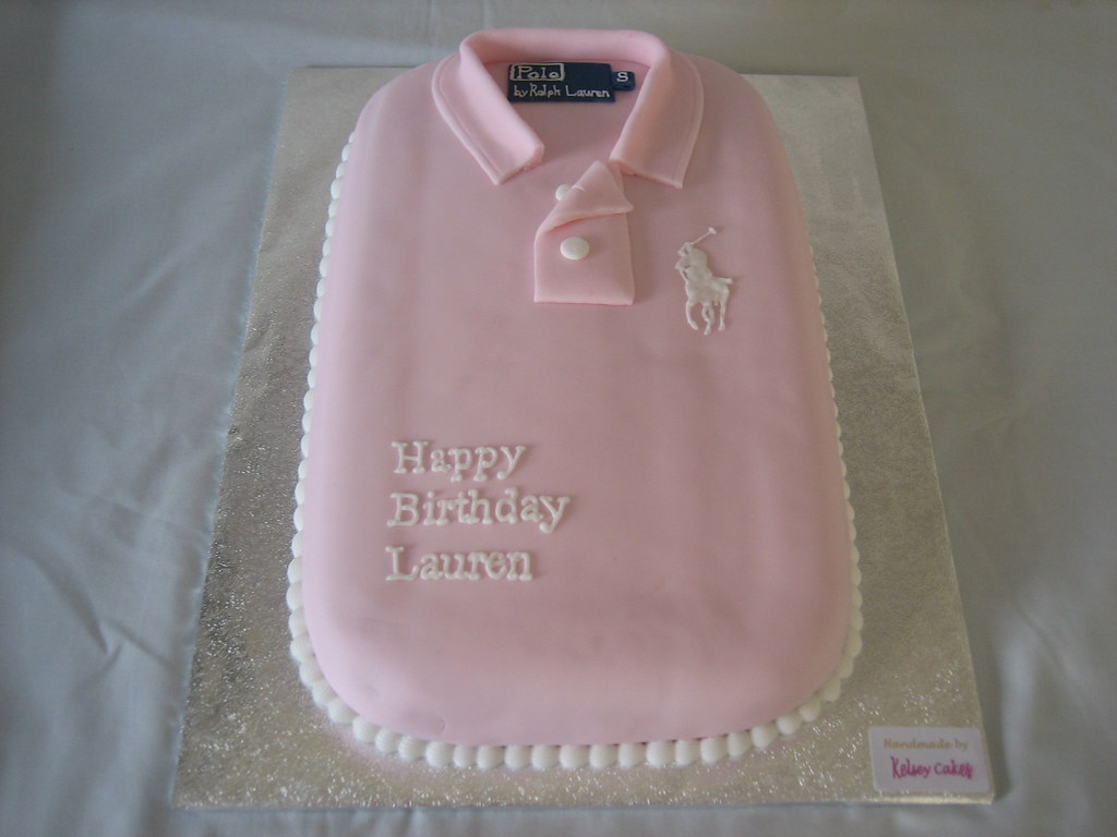 How To Make A Polo Shirt Cake