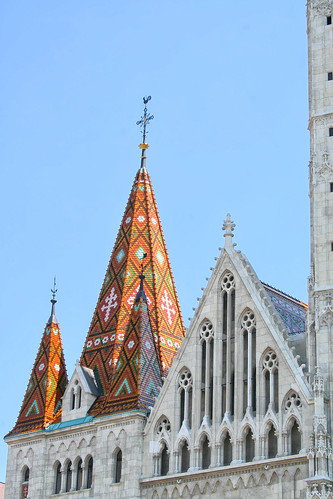 Ornate roof of Matthias Church | by larigan.
