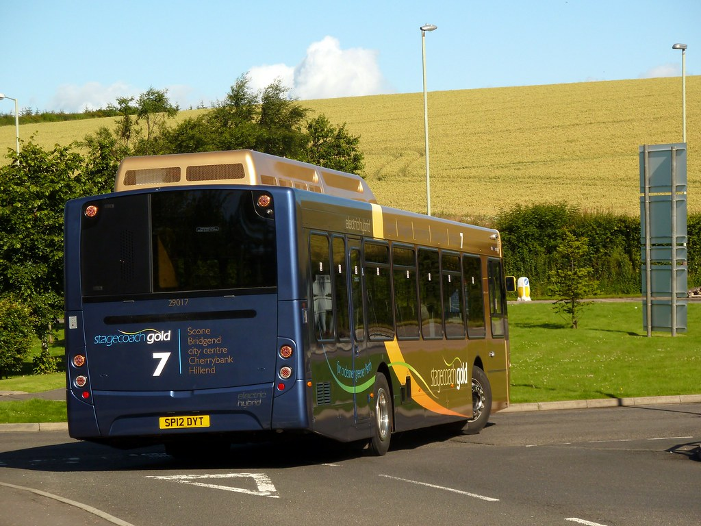 Stagecoach gold perth 29017 a glorious day acrross for Bus timetable perth 85