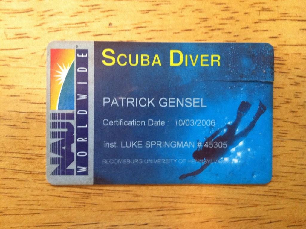 Naui Scuba Certification Patrick Gensel Flickr