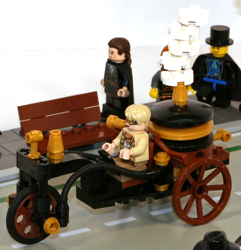 Deryn Sharp's Steamcycle | by Lord-Sterling