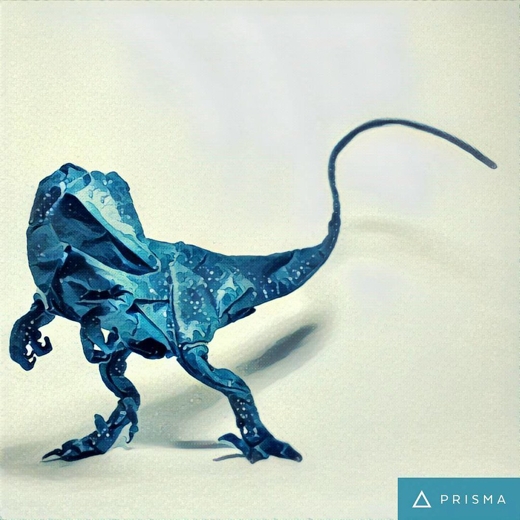 Deinonychus Design by Satoshi Kamiya #origami #art #prisma ... - photo#14