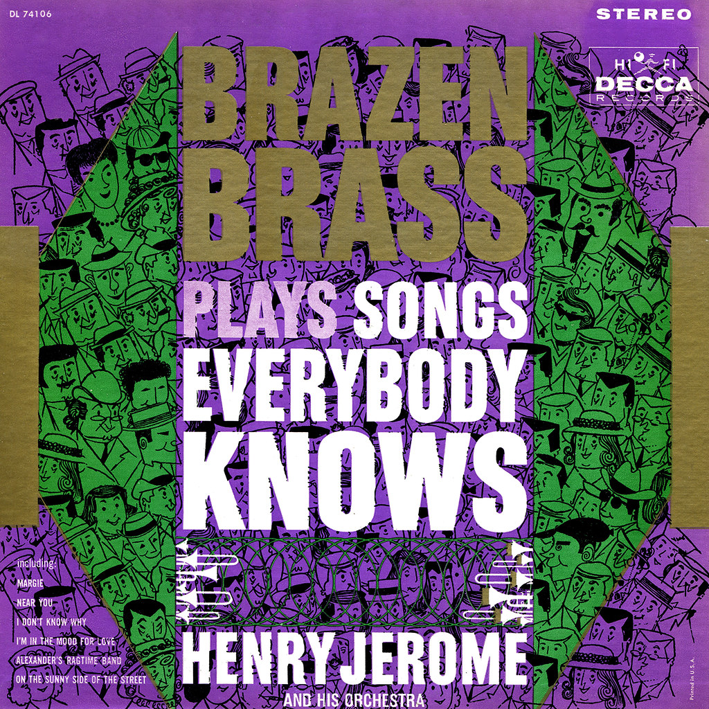 Henry Jerome - Brazen Brass Plays Songs Everybody Knows