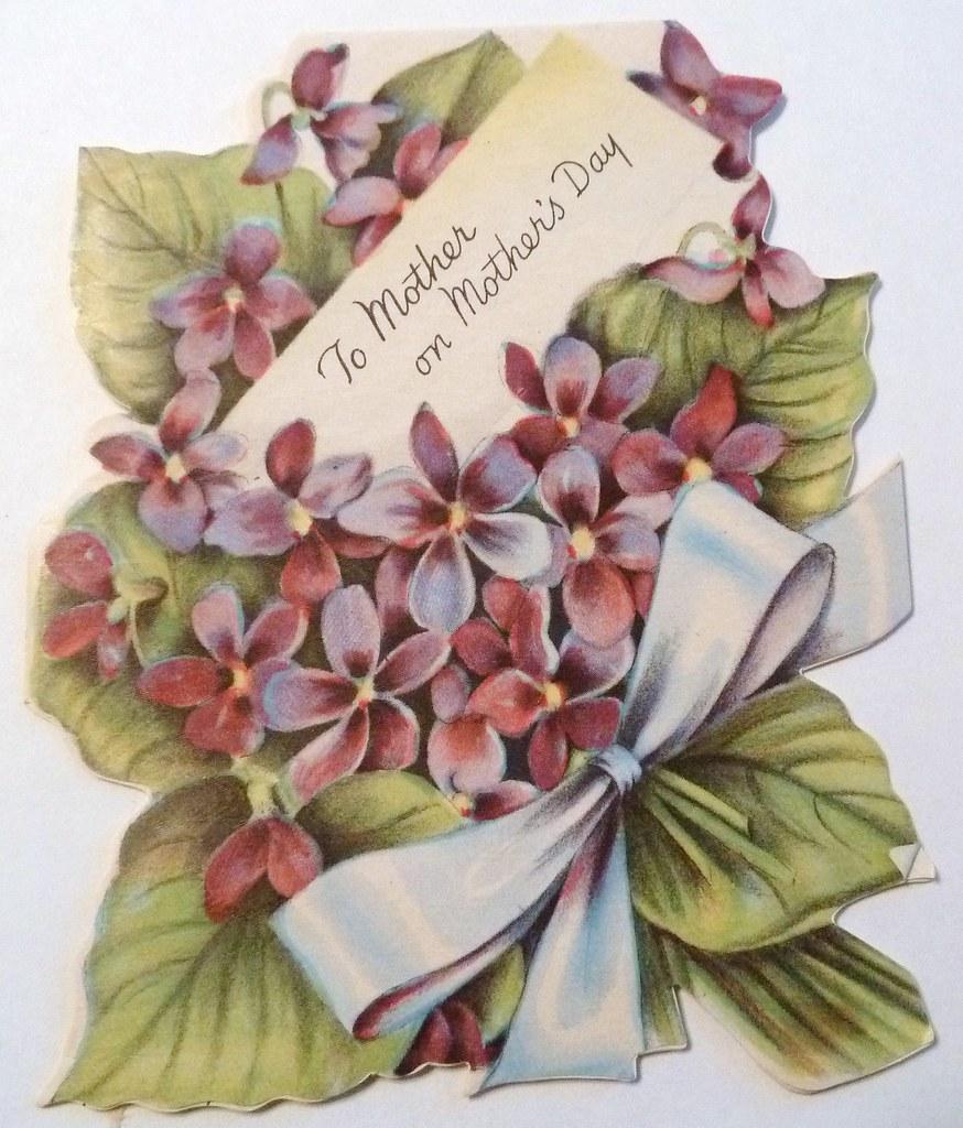 vintage mother u0026 39 s day card