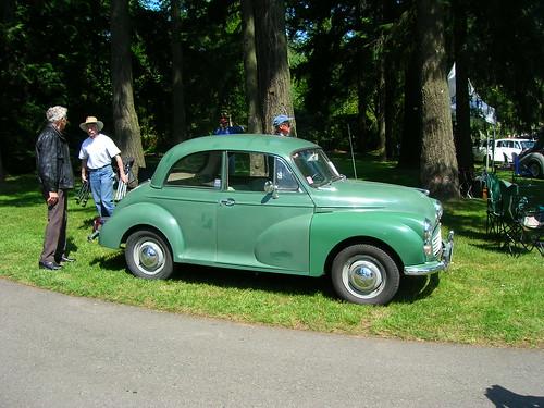 Van Dusen Gardens Car Show