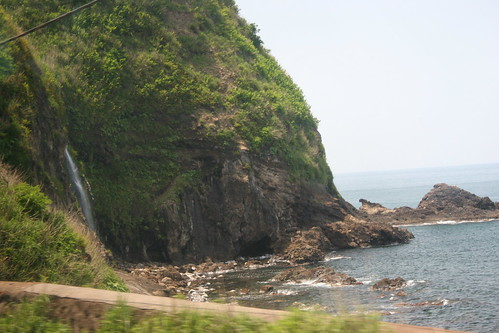 Waterfall on the sea of Japan | by sondy