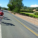 The slow ride back to Healdsburg, from the finish