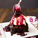 Roasted Cherry Brownie Sundaes