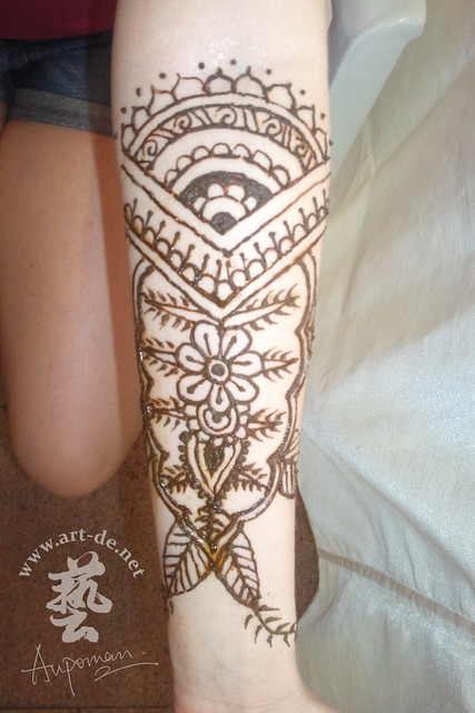 aupoman hk henna tattoo arm henna tattoo by aupoman in. Black Bedroom Furniture Sets. Home Design Ideas