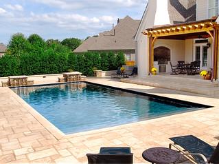 Memphis Pool Traditional Geometric Swimming Pool Getwe