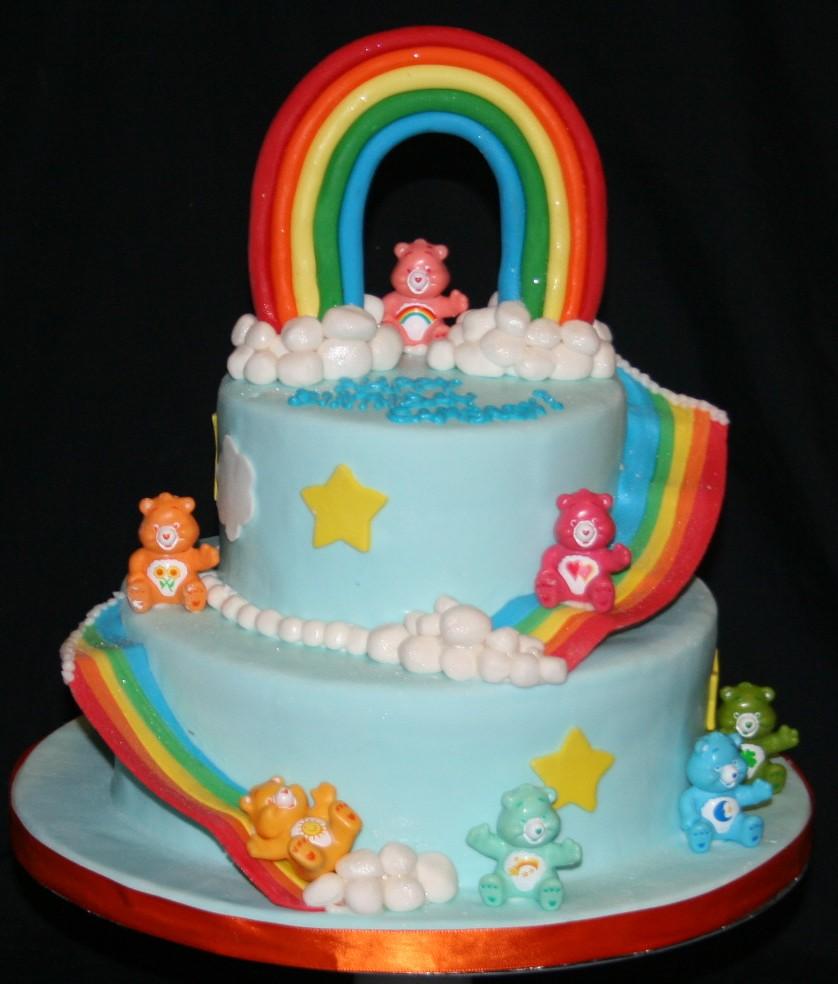 Birthday Cake Care Bears