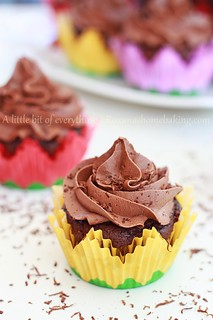 Chocolate Cupcakes with Chocolate Frosting | by RoxanaGreenGirl | Roxana's Home Baking