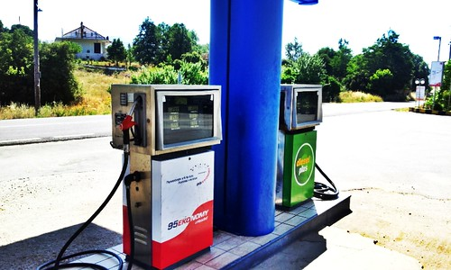 Old style gas pumps! | by AnneCN