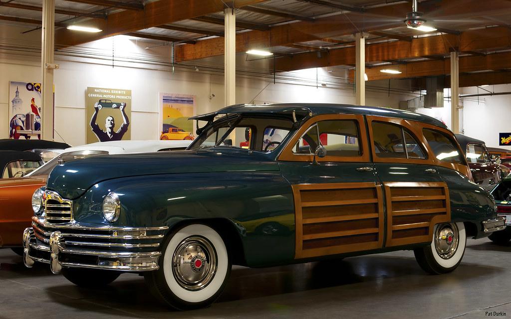 1949 Packard Eight 2393 Station Sedan - rvl --- Crevier Cl… | Flickr