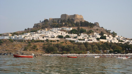Acropolis from beach | by Alexanyan