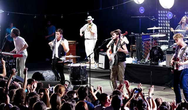 Mumford & Sons - Teatro Romano, Verona - 2 luglio 2012