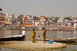 View on Varanasi | by Dick Verton