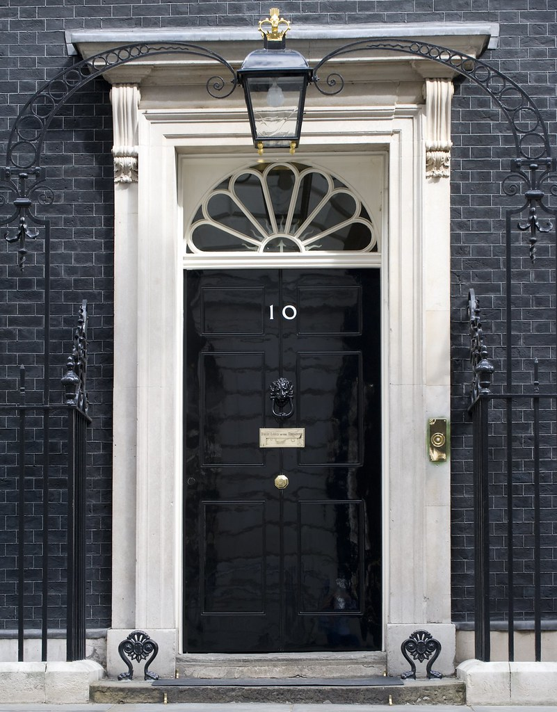 Number 10 Door The Famous Black Door Of Number 10