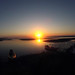 Sunset in Alligator Harbor oyster reef