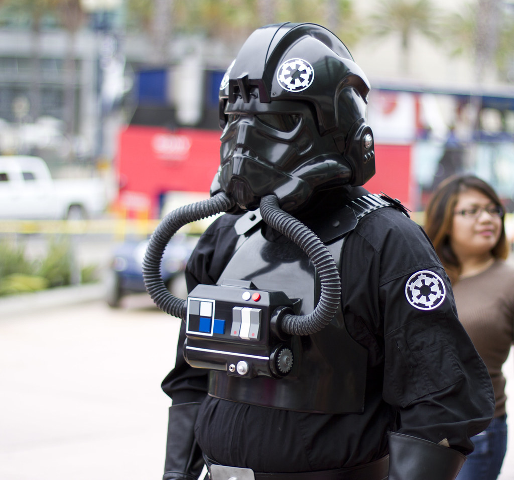 Tie Fighter Pilot Costume Tie Fighter Pilot | by San